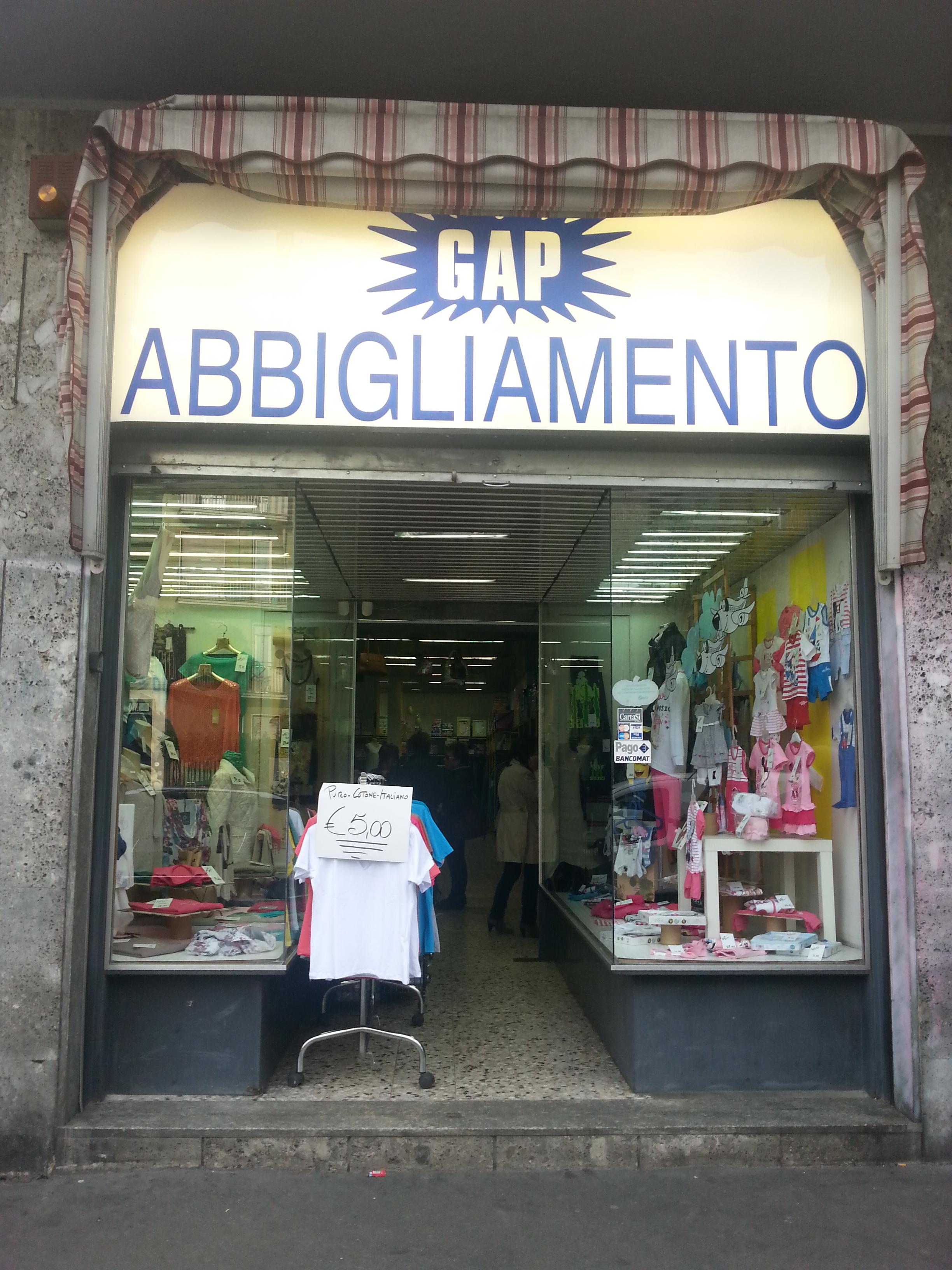 Gap Abbigliamento