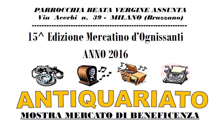 Locandina Antiquariato 2016