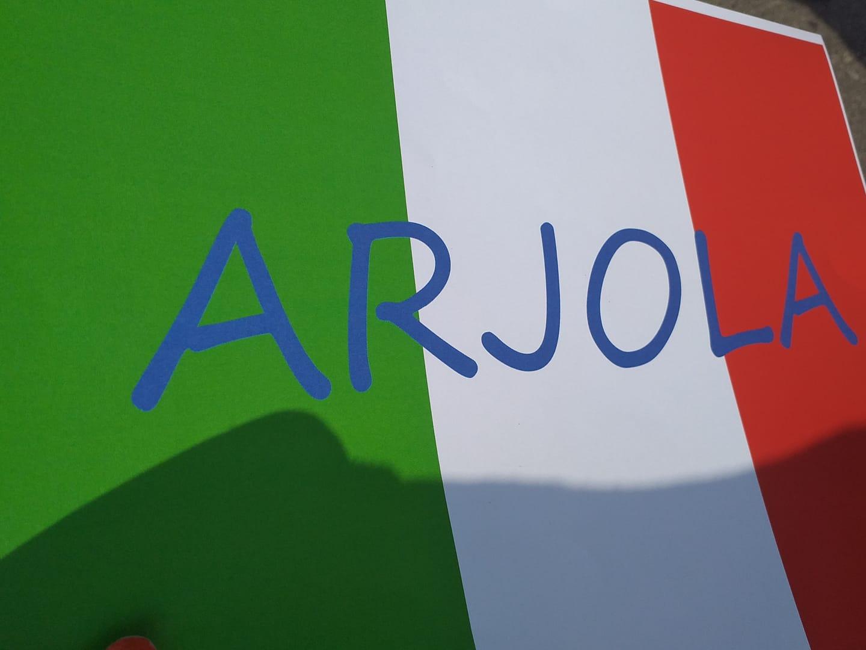 arjola bandiera italiana bruzzano 2021