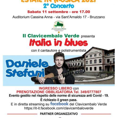 Cassina Anna 11 settembre Italia in blues